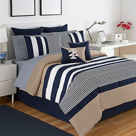 izod classic stripe comforter set bed bath