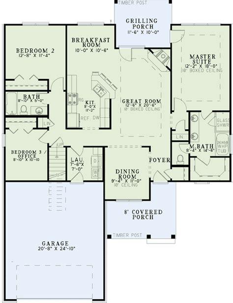 3 bedroom floor plans with bonus room flexible 2 or 3 bedroom craftsman 60562nd 1st floor