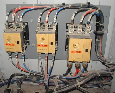 electric contactor wiring