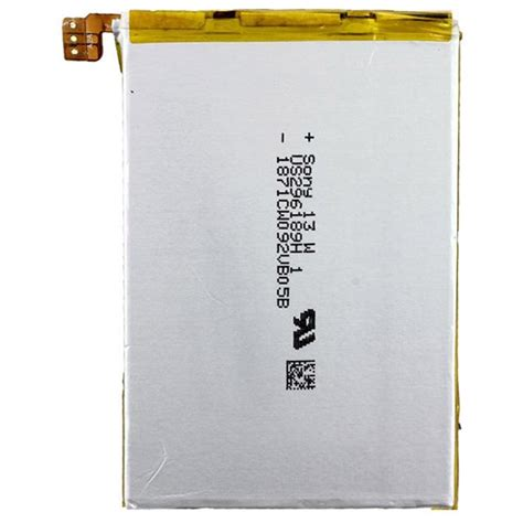 Battery Sony Xperia Zl an oem xperia zl battery lis1501erpc mtp