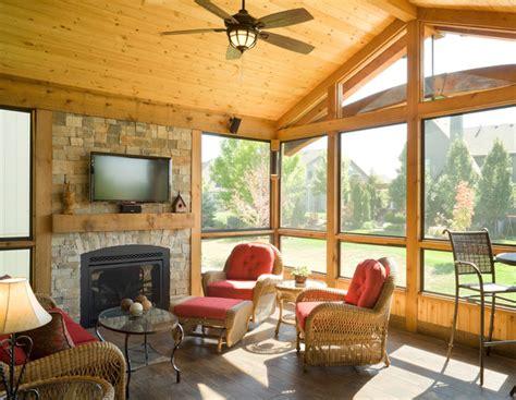 All Seasons Room by Lenexa 3 Season Room Traditional Deck Kansas City