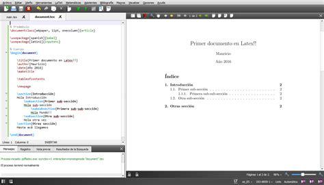 Ubicacion Imagenes Latex | curso de latex introducci 243 n instalaci 243 n y estructura