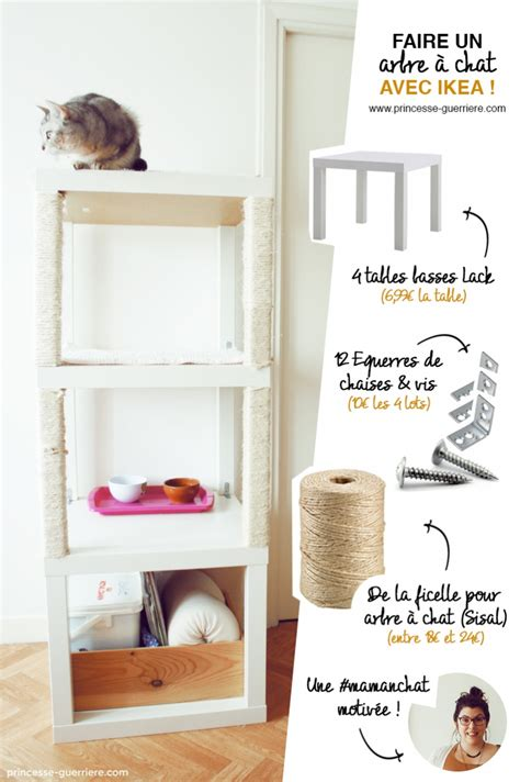 Arbre A Chat Diy by Un Arbre 224 Chat Ikea Diy Bidouilles Ikea