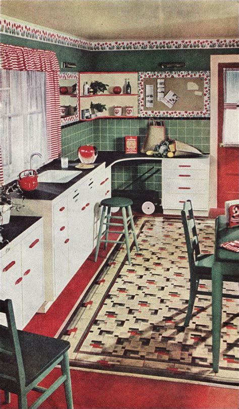 1930 kitchen 1930s kitchen in a linoleum ad 115 best images about kitchens on recycled glass countertops vintage and 1930s