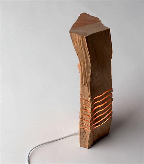 splitgrain split wood lights and sculptures