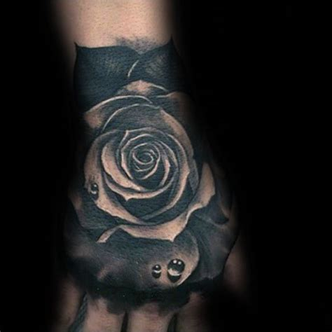 black ink rose tattoo 80 black designs for ink ideas
