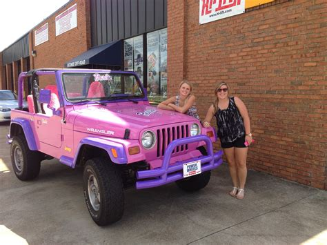 Barbie Jeep Barbie Jeep Pinkjeep Pimp Street
