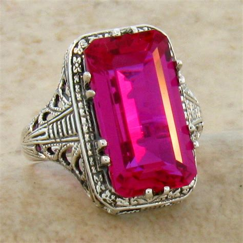 ruby ring antique ruby ring value
