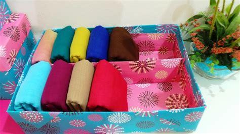 Kotak Kapas N Cotton Bud Sui diy storage box for tudung bawal inimeeya