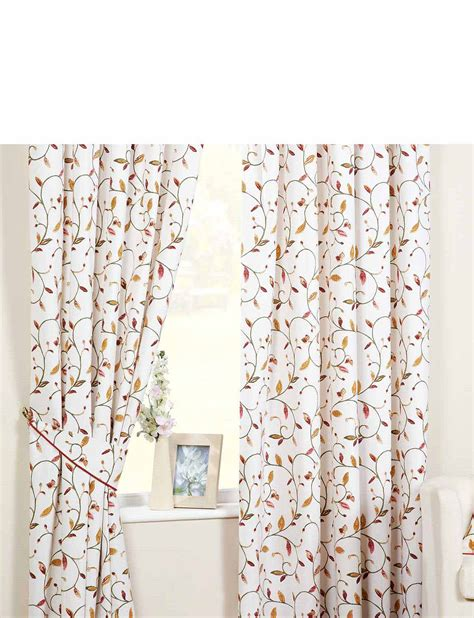 leaf curtains leaf trail lined curtains by rectella home textiles