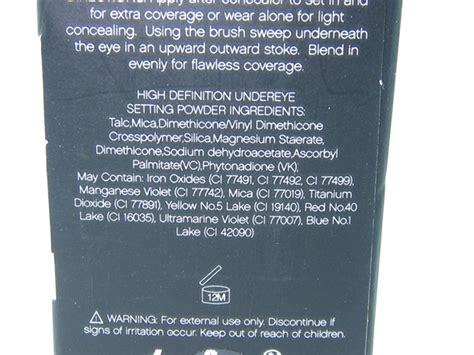 E L F Hd Undereye Setting Powder e l f studio high definition undereye setting powder