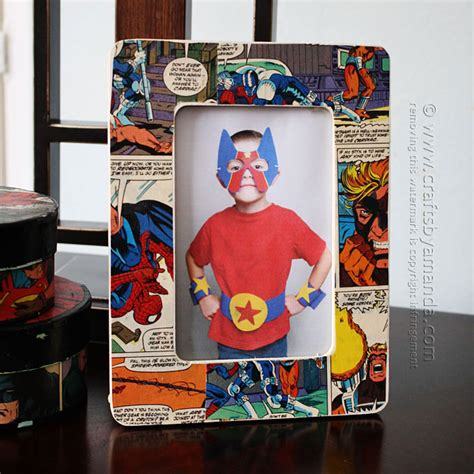 comic book picture frame flaunt your favorite memories with these 50 diy picture frames