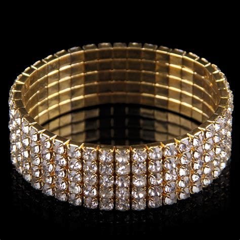 Rhinestone Bangle bling rhinestone bangle wedding gift
