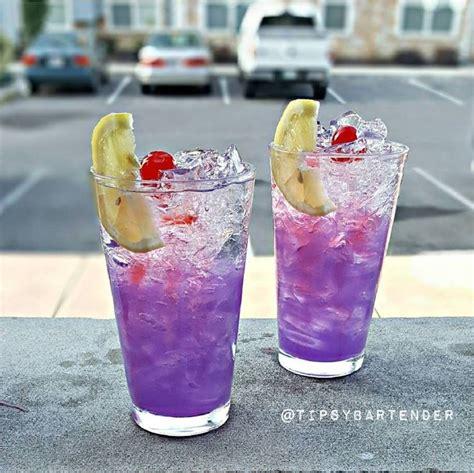 purple cocktail purple lemonade cocktail top shelf pours