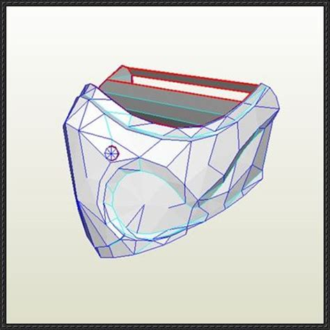 Mortal Kombat Papercraft - a mortal kombat mask papercraft free template