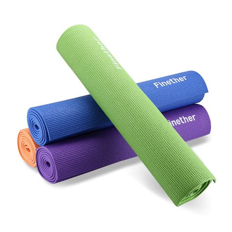 physio pilates mats 6mm pvc mat thick exercise fitness physio pilates