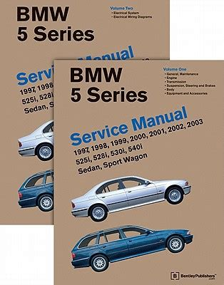 service and repair manuals 1997 bmw 5 series parking system bmw 5 series e39 service repair manual 1997 2003 bentley autos post