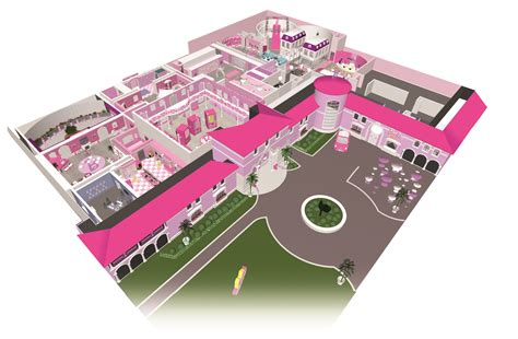 design barbie dream house barbie dreamhouse layout zara stone