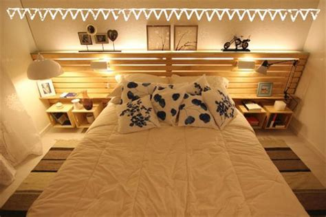 Pallet Furniture Headboard by Diy Easy Wooden Furniture Projects From Pallets 101 Pallets