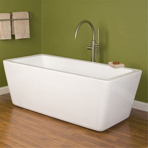 Soaking Bathtub by 67 Inch Acrylic Free Standing Soaking Tub 1700mm