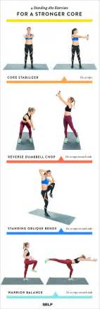 best 25 standing ab exercises ideas on abs