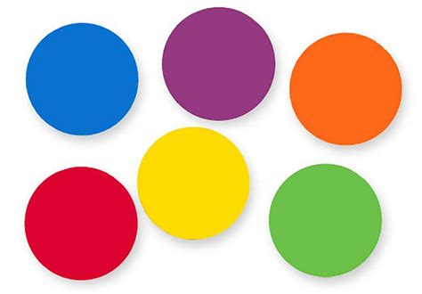 color dots color dots spot markers 36 durable non skid silicone dots