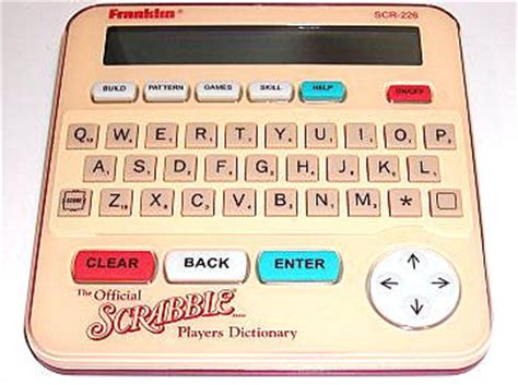 scrabble electronic dictionary franklin official scrabble player s dictionary 9am 5pm