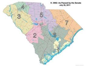 carolina senate district map south carolina congressional districts map for 114th us