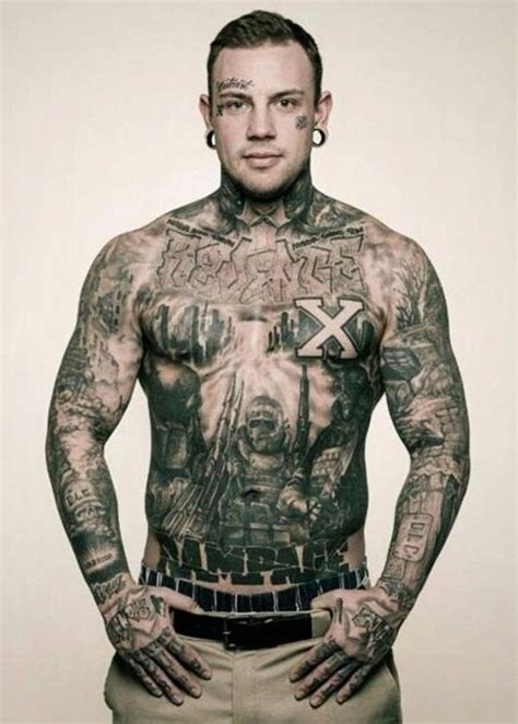 full body tattoo guy 32 best images on