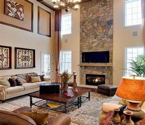 family room decorating photos kitchen and family room coffee table ideas stone fireplace