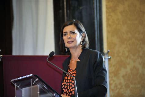 boldrini presidente della presentazione annuario italiano diritti umani 2015 roma