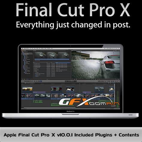 final cut pro x plugins apple archives gfxdomain blog