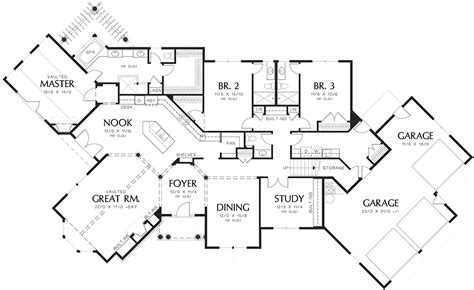 floor alan mascord floor plans luxamcc