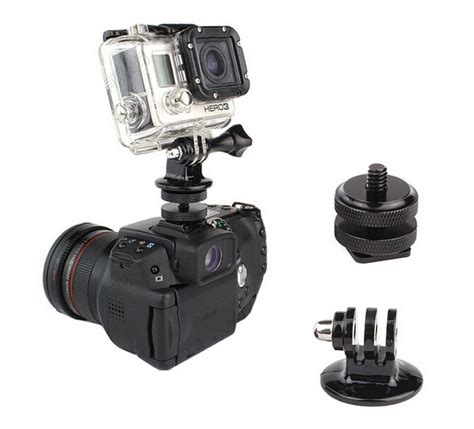 Gopro Canon aliexpress buy gopro tripod mount adapter 1 4 inch shoe tripod mount adapter