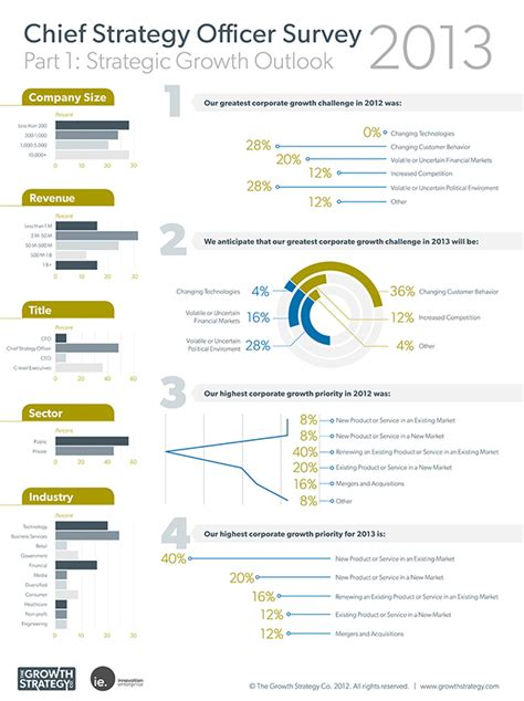 Chief Strategy Officer by Chief Strategy Officer Survey Infographic Series On Scad