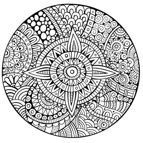image gallery mandala star mandala star thick lines mandalas coloring pages for