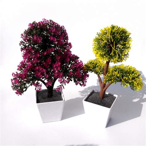 artificial plants bonsai for home decorative artificial