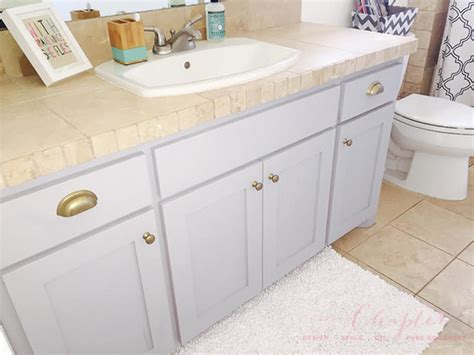 how to chalk paint cabinets how why to chalk paint your bathroom or kitchen cabinets
