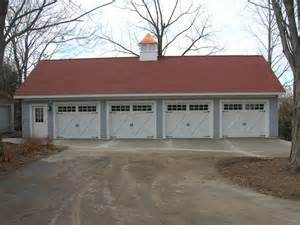 Size Of Three Car Garage three car and larger archives coach house garages