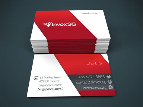 design name card modern serious name card design for john by jaiprakash