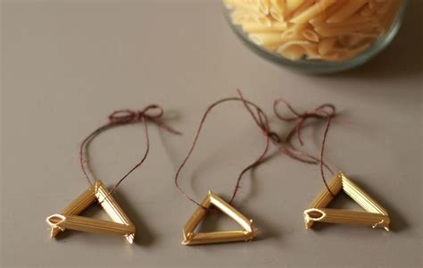pasta crafts for diy pasta ornaments crafts for