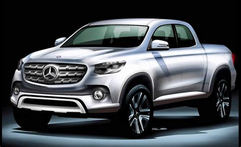 mercedes benz pickup truck business insider