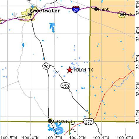 nolan county texas map nolan texas tx population data races housing economy