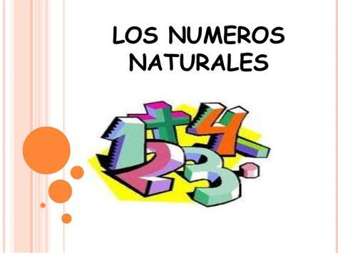 Imagenes Con Numeros Naturales | los n 250 meros naturales aritm 233 tica2016