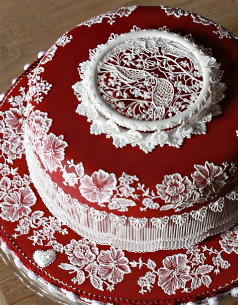 Ruby Wedding Cakes by Ruby Cake Cakecentral