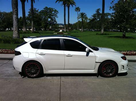 white subaru impreza hatchback 2011 subaru pearl white sti wrx hatch c a r s b i