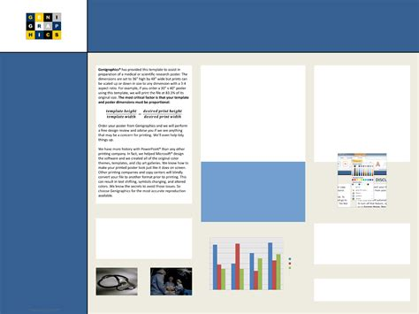 48 by 36 poster template the research poster template with abstract sidebar 48 36