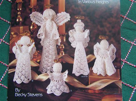 crochet pattern angel christmas tree topper 9 christmas crochet patterns angel tree topper lacy