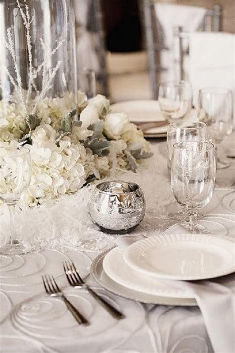 30 spectacular winter wedding table setting ideas deer pearl flowers