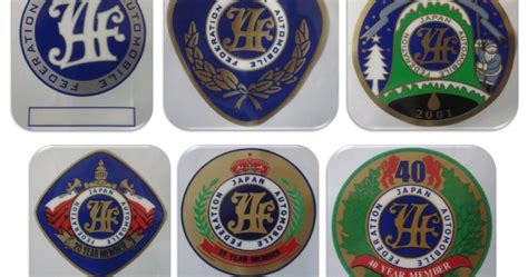 fanatic jaf sticker stiker jaf japan automobile federation